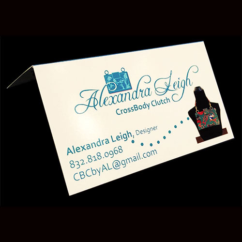 Cross Body Clutch Business Card