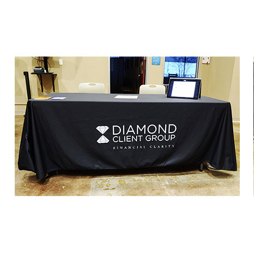 Diamond Client Group Table Cover